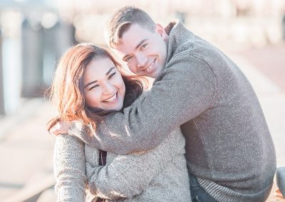 Freemason Harbor Engagement Session