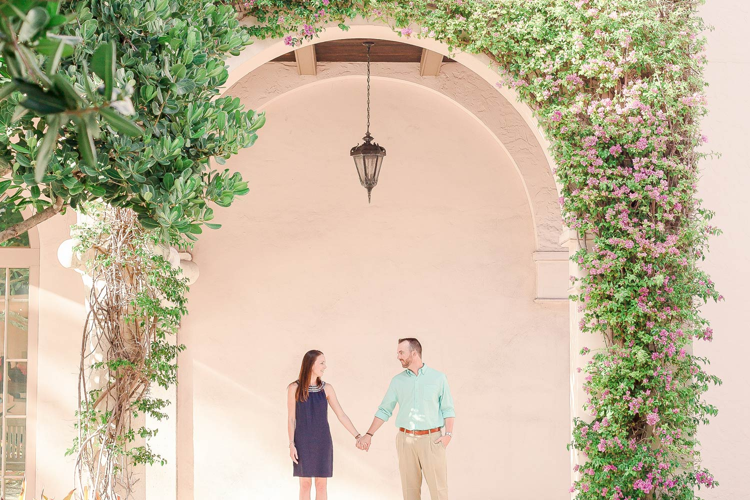 Palm Beach Worth Avenue Engagement
