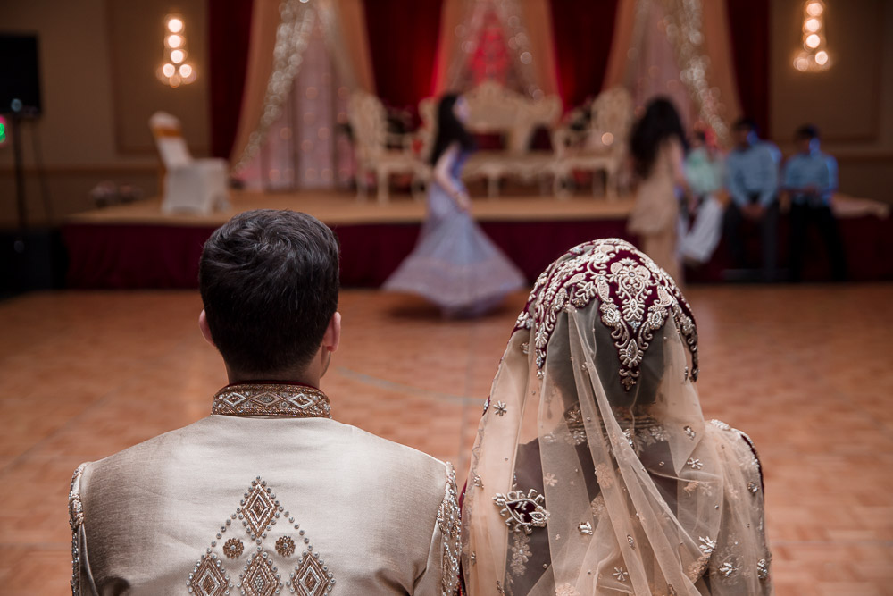 pakistani wedding dance ceremony
