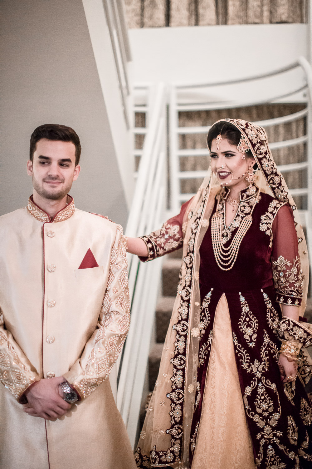 pakistani wedding first look