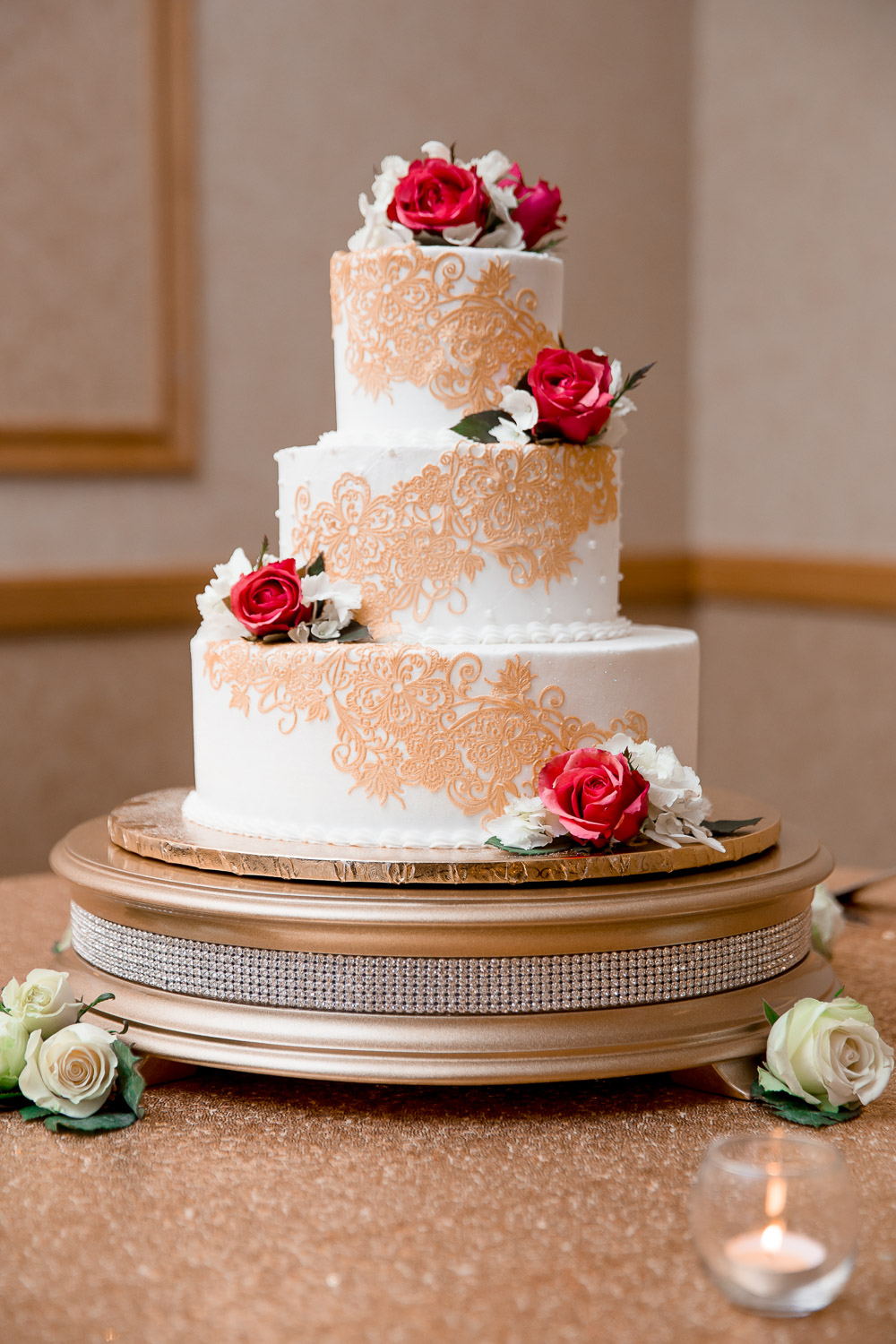 florida hotel conference center wedding venu cake