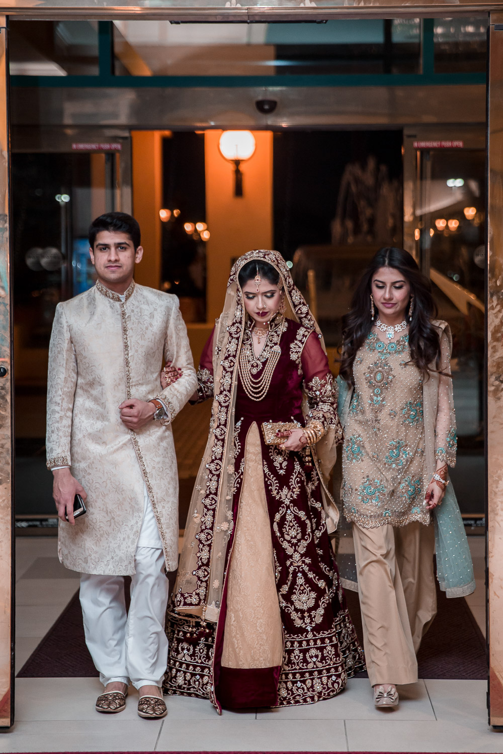luxury pakistani wedding dress