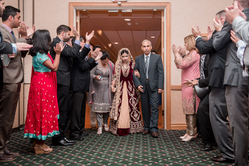 pakistani wedding bride grand entrance