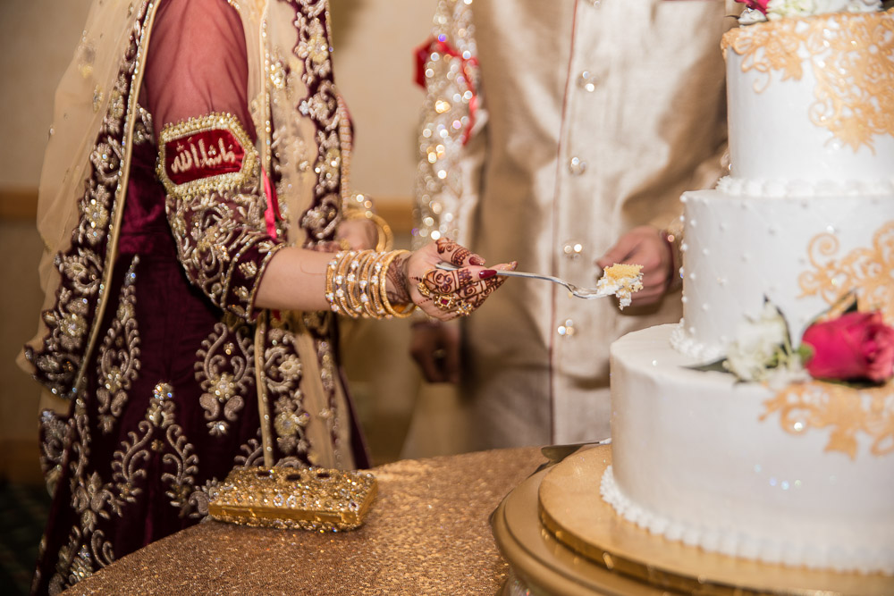 pakistani wedding cake