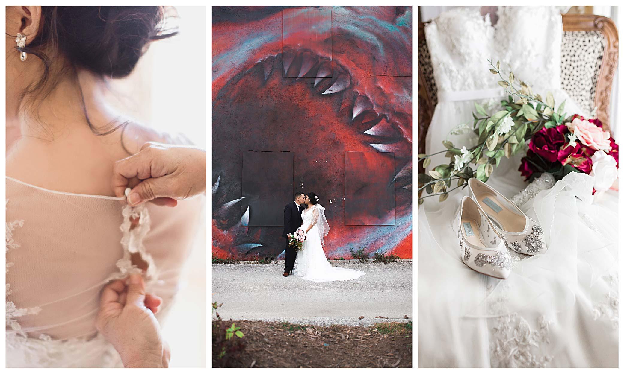 eau gallie arts district filipino wedding photos