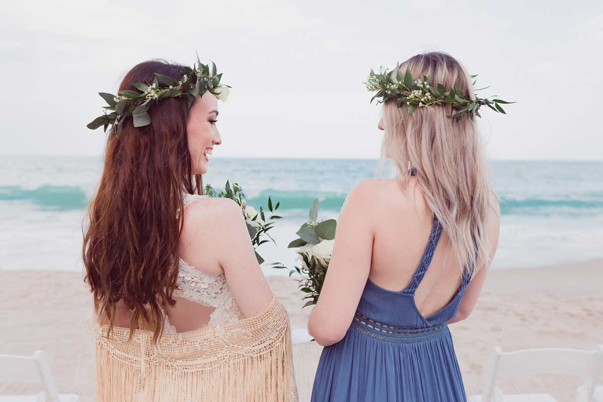 Boho Coastal Inspired Wedding