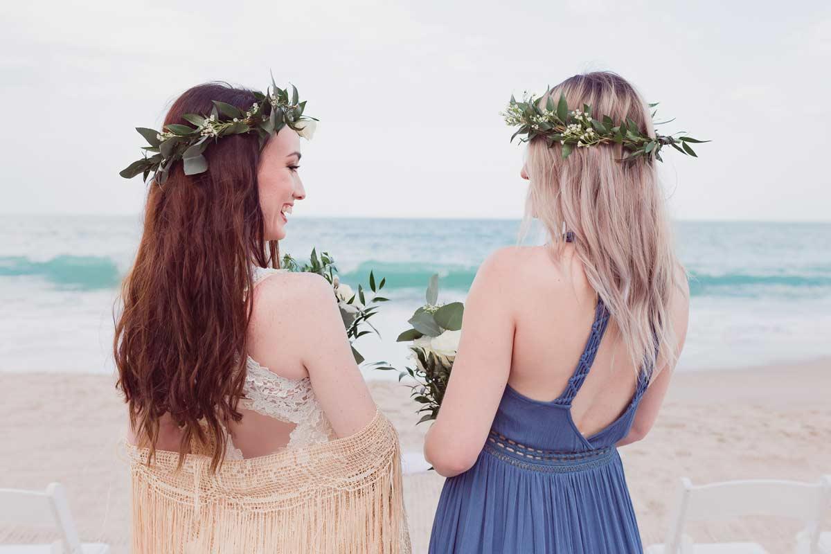 Boho Coastal Inspired Wedding