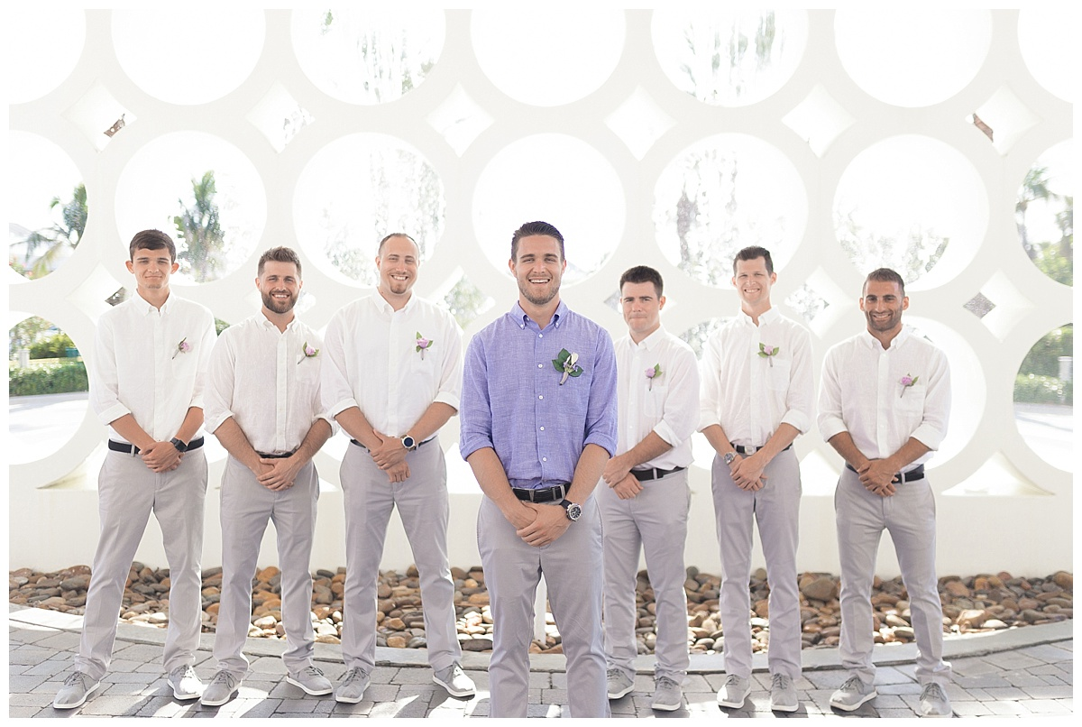 groomsman wedding photography