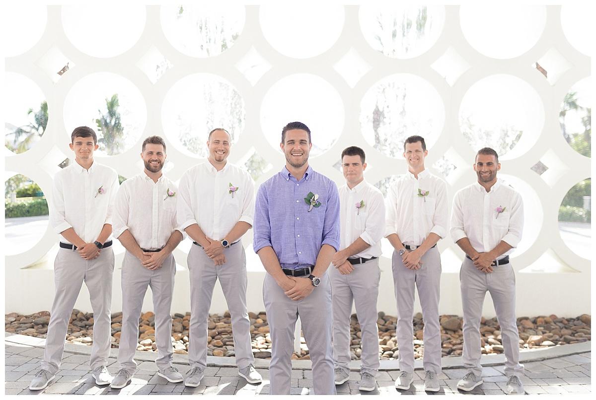 groomsman wedding photography