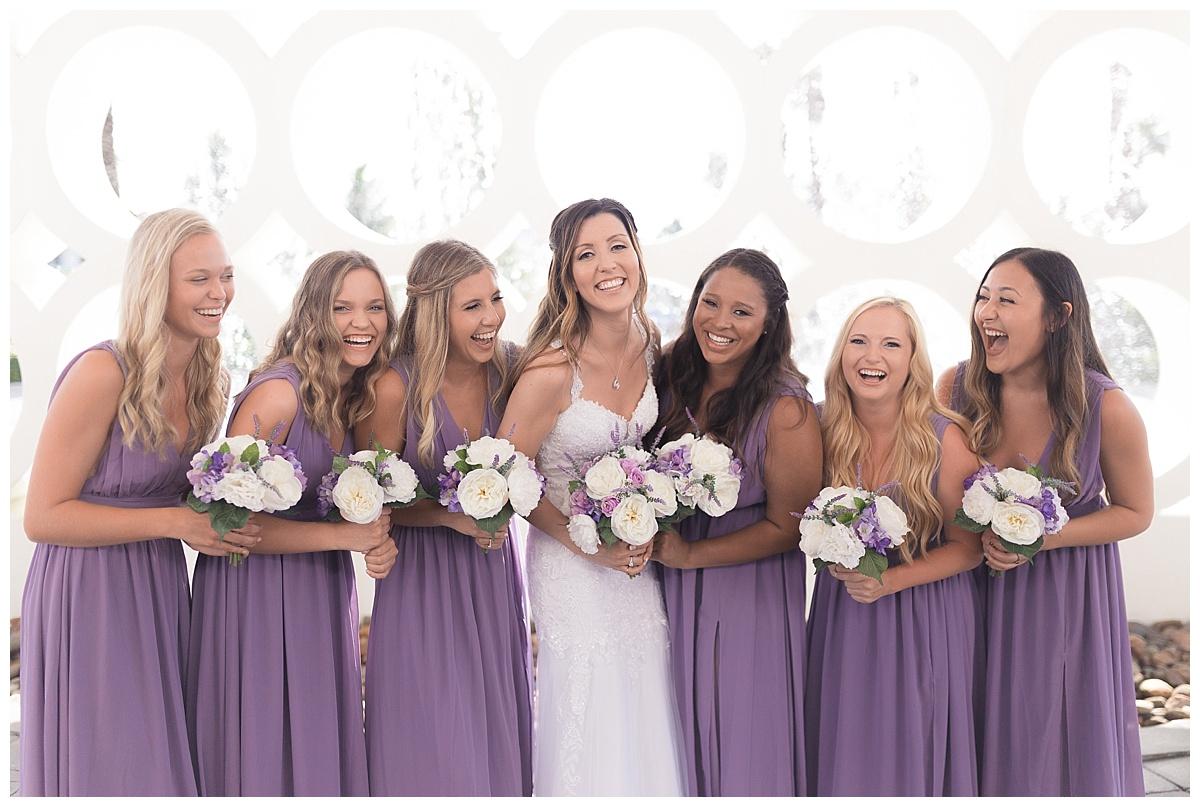 Costa D'Este Wedding Venue Bridesmaids