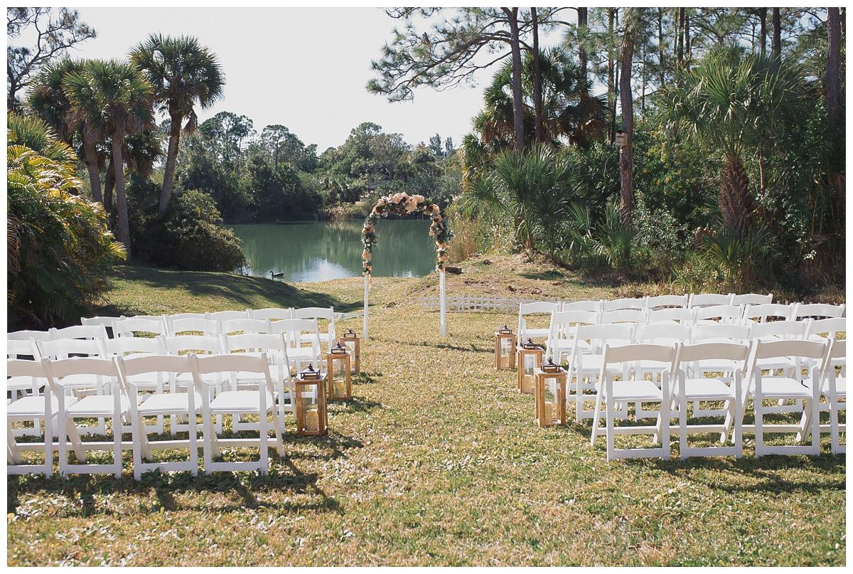 vero beach backyard wedding