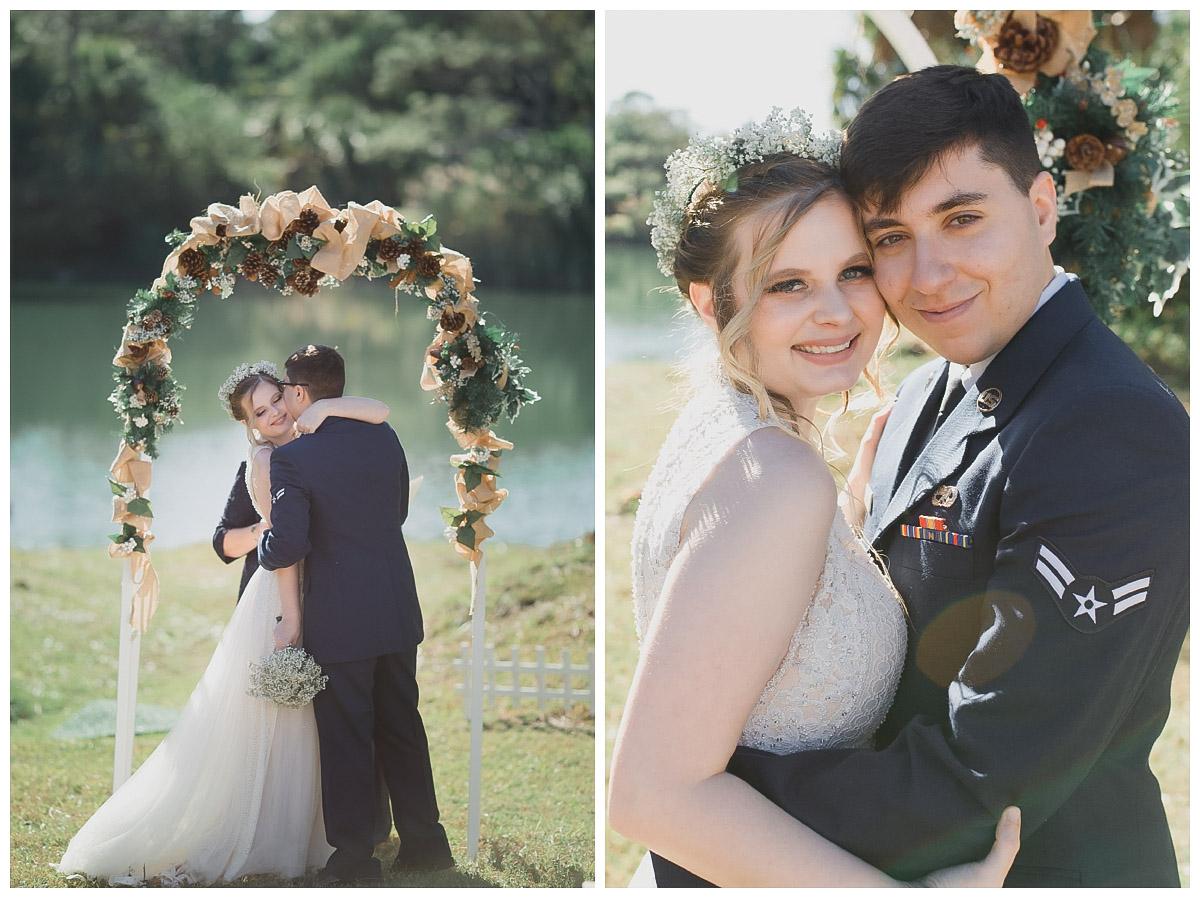 vero beach backyard wedding photographer