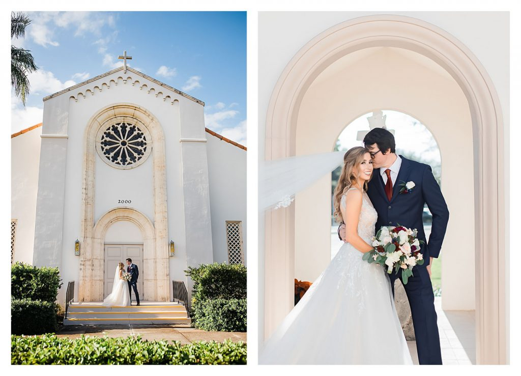 st helen's catholic church vero beach wedding