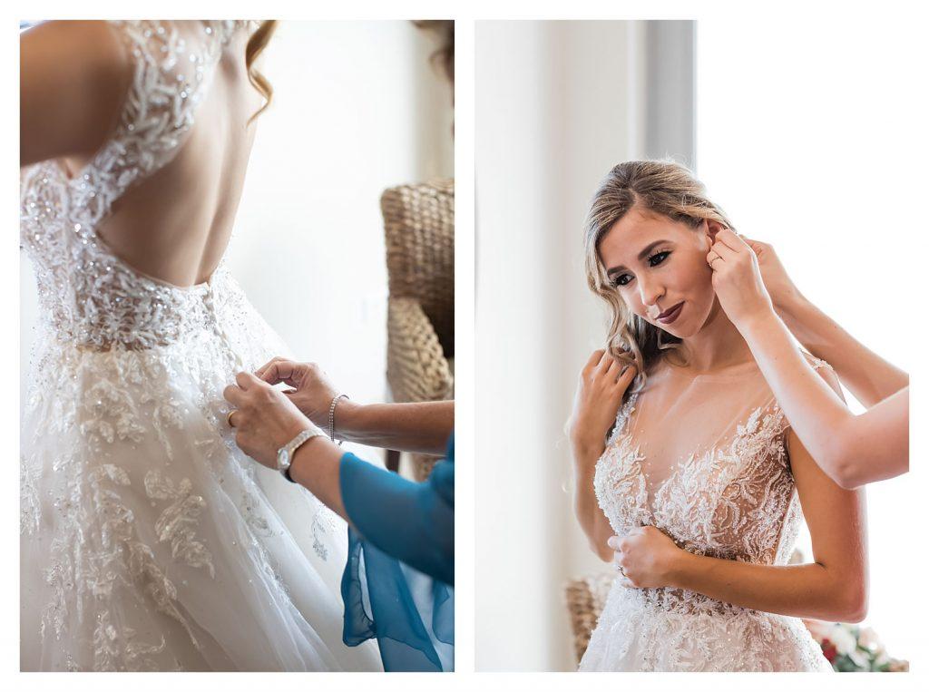 getting ready wedding timeline