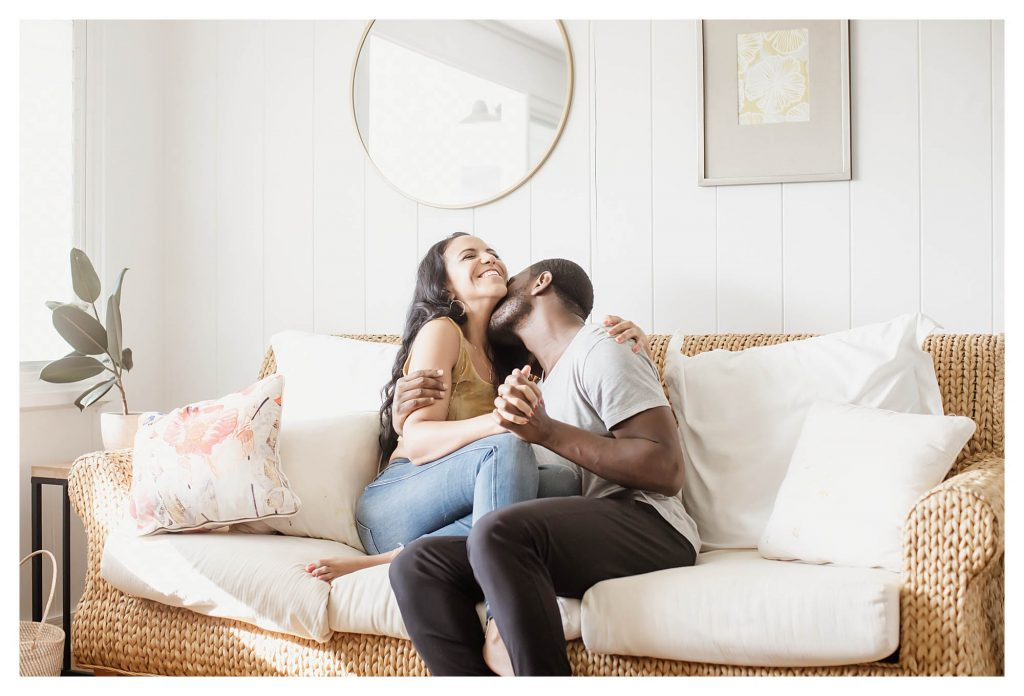 in-home engagement session
