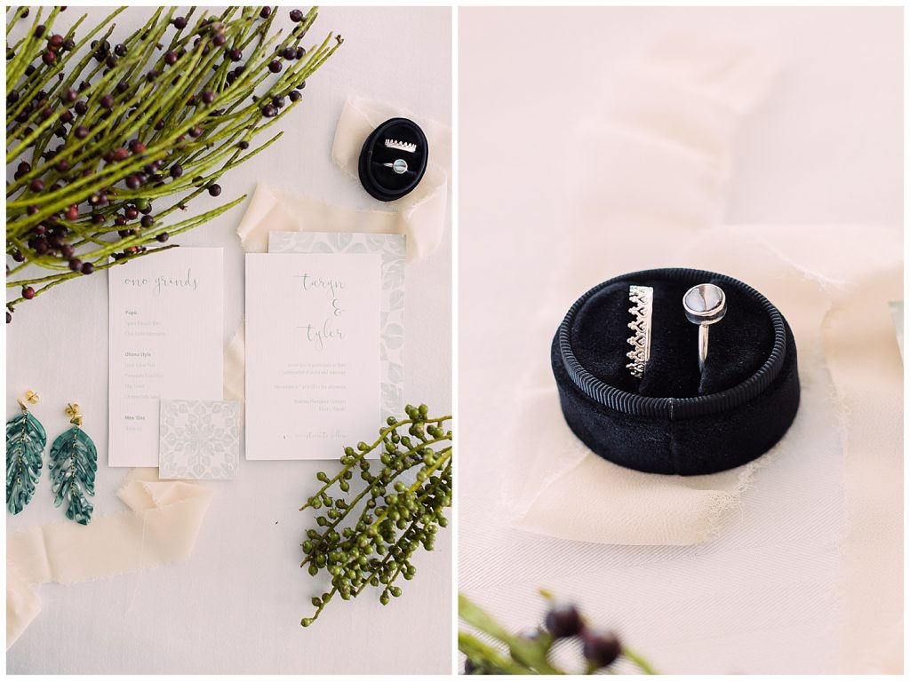 wedding stationary kauai