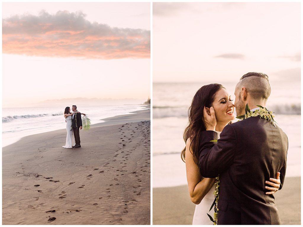 beach wedding photographer hawaii
