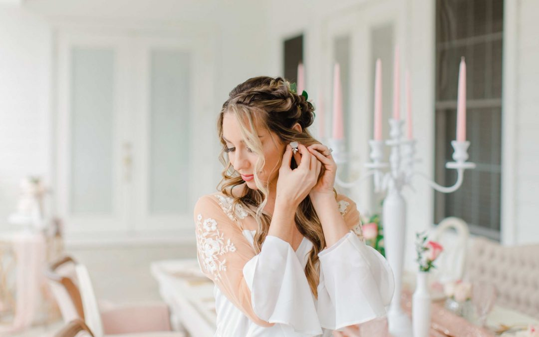 Blush Inspired Luxury Bridal Session