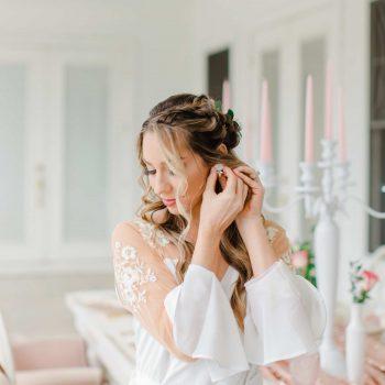 Blush Inspired Luxury Bridal Session