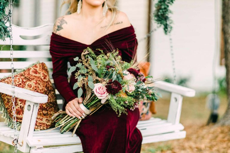 Badass Boho Bridal Shoot