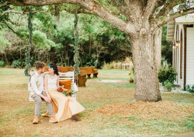 Boho Wedding at Cattleya Chapel