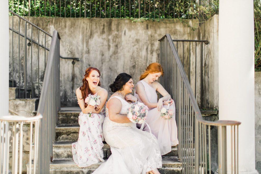 millenium gate museum bridal portrait session