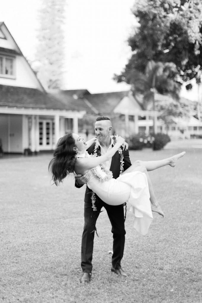 kauai destination wedding waimea plantation cottages