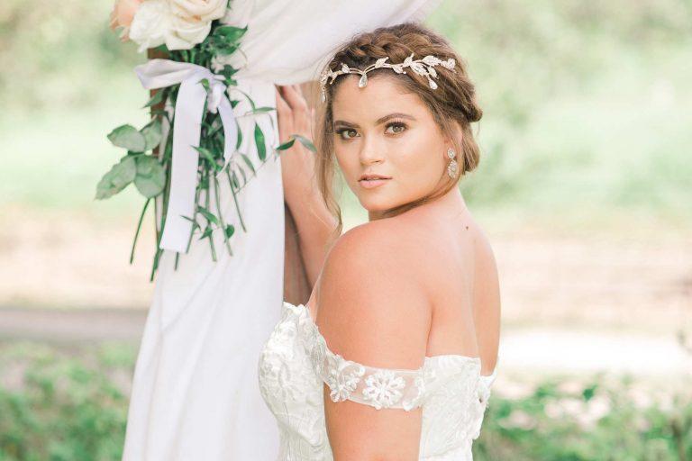 Summer Barn Bridal Portraits