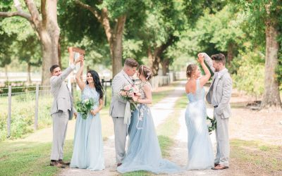Blue Inspired Rustic Wedding