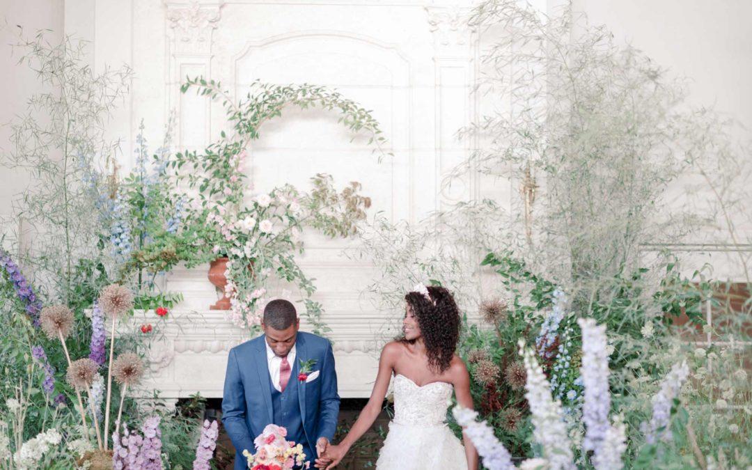 Whimsical Garden Estate Wedding
