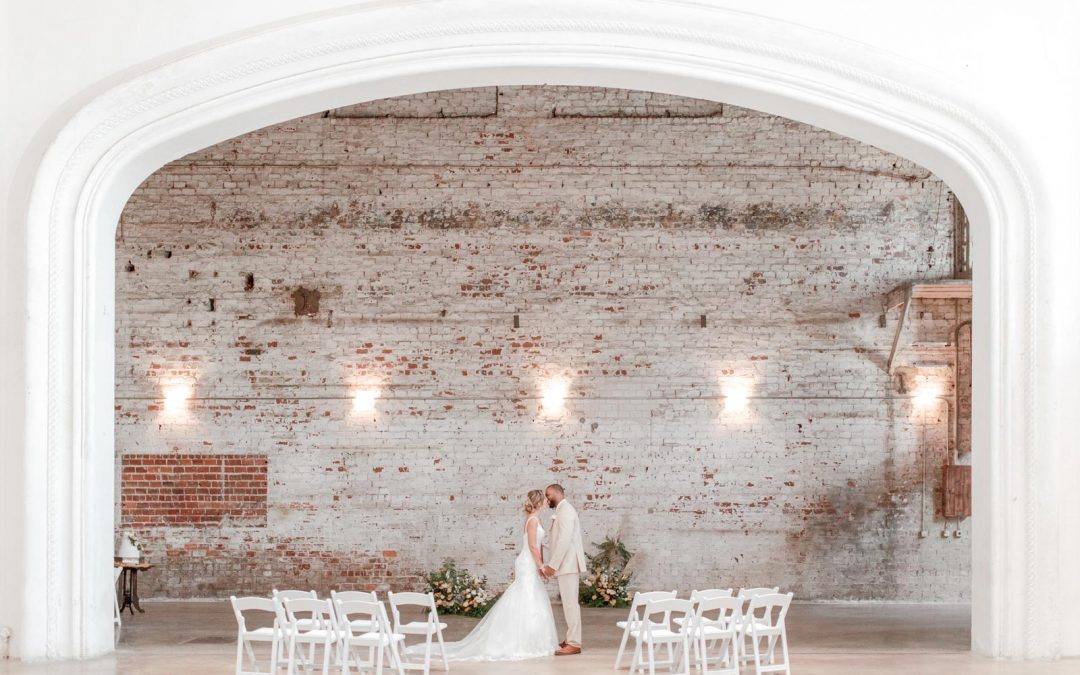 Fine-Art Wedding in a Historic Theater