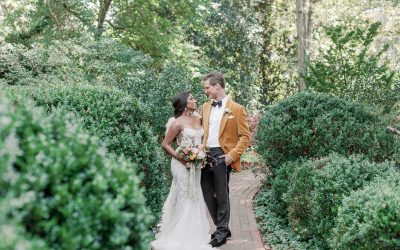 Vintage Velvet Georgia Wedding