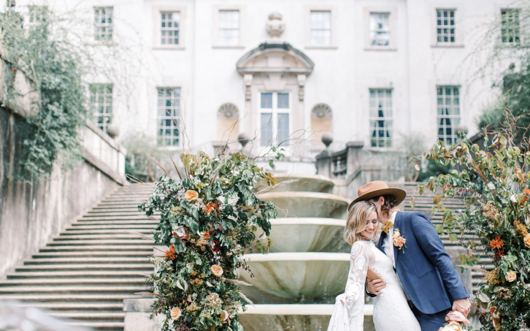 Vintage Atlanta Wedding at the Swan House