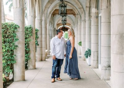 Chic Worth Avenue Engagement Session