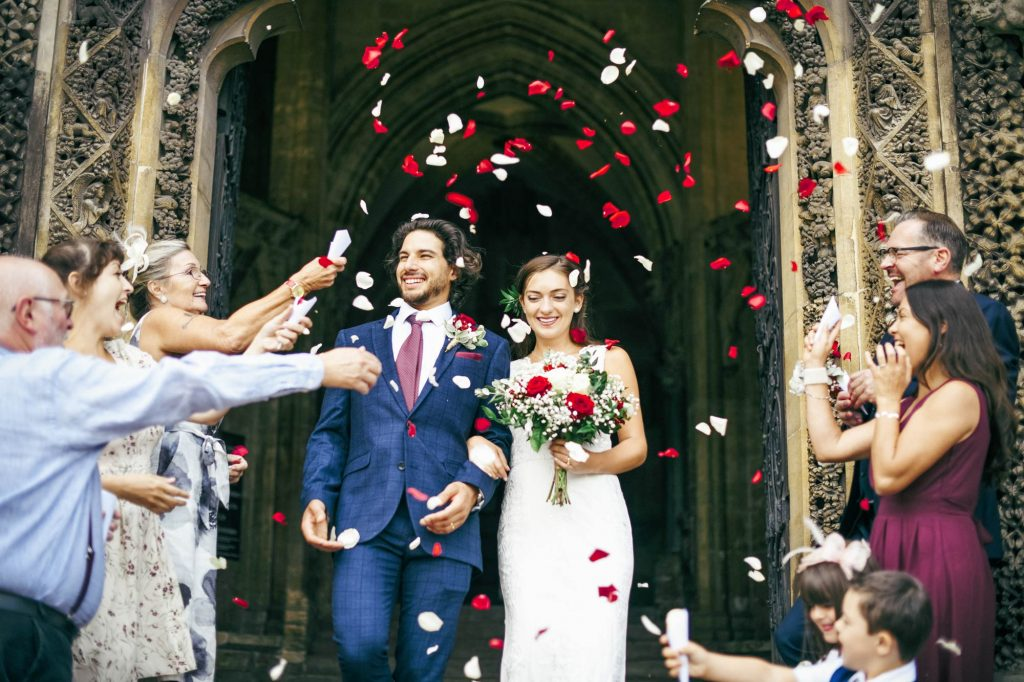 alternative wedding reception exit ideas