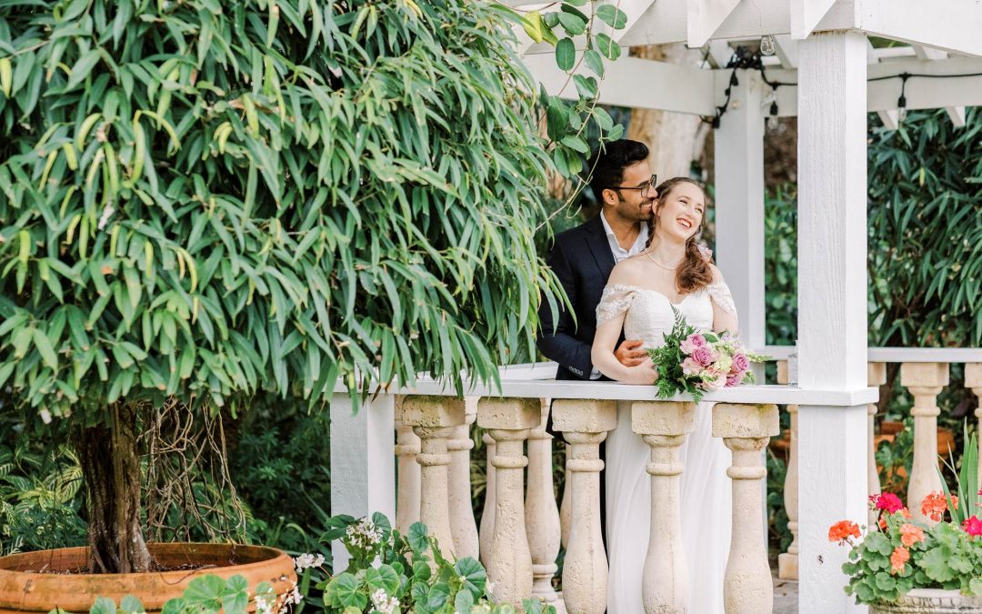 Garden Intimate Wedding in Sebastian FL