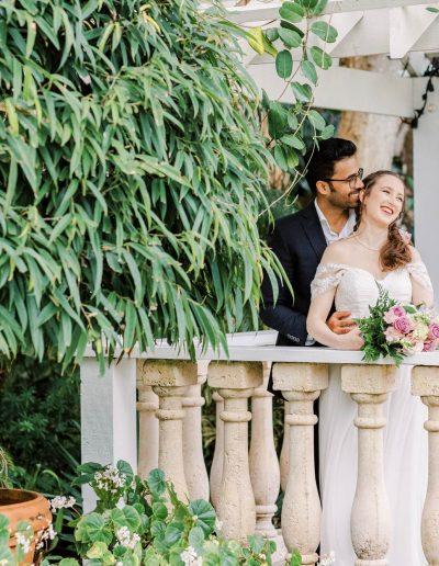 Garden Intimate Wedding in Sebastian FL