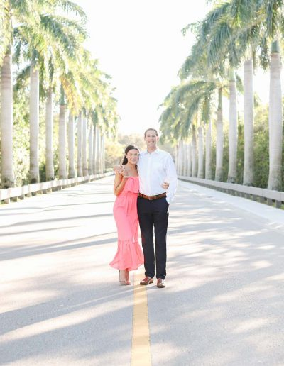 Chic Country Club Engagement