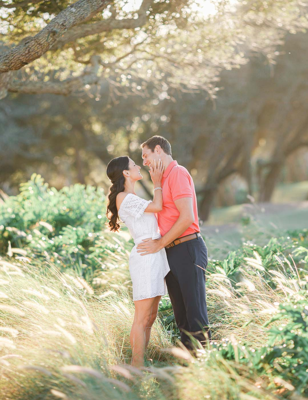 vero beach john's island engagement wedding