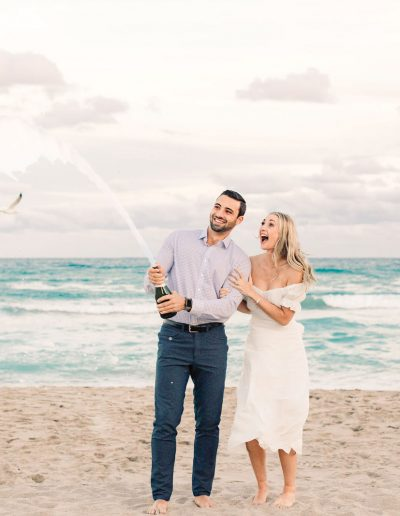 Chic Palm Beach Engagement