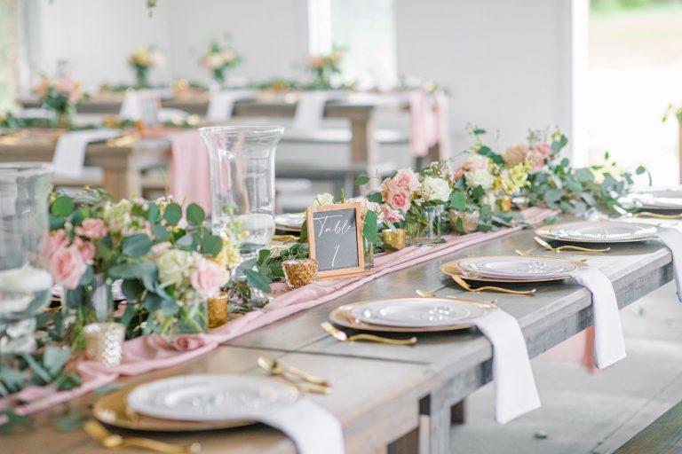 Romantic Spring Chapel Wedding