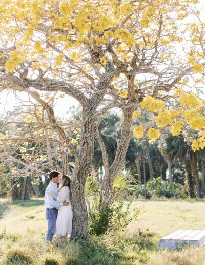 Romantic Florida Farm Engagement Session