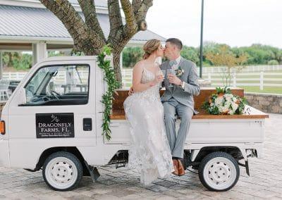 Palm Bay Summer Barn Wedding
